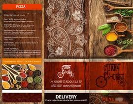 Nro 38 kilpailuun Design a Brochure(A4 FOLDED)  FOR Curry Hurry käyttäjältä edwindaboin
