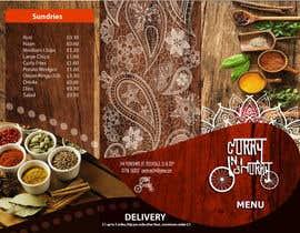 Nro 40 kilpailuun Design a Brochure(A4 FOLDED)  FOR Curry Hurry käyttäjältä edwindaboin
