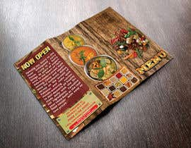Nro 32 kilpailuun Design a Brochure(A4 FOLDED)  FOR Curry Hurry käyttäjältä gkhaus