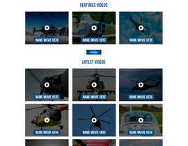 #5 for Design a WordPress Mockup - One Page Site by ncdesignerr