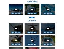 Nro 5 kilpailuun Design a WordPress Mockup - One Page Site käyttäjältä ncdesignerr