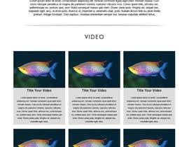 Nro 2 kilpailuun Design a WordPress Mockup - One Page Site käyttäjältä mayanglita