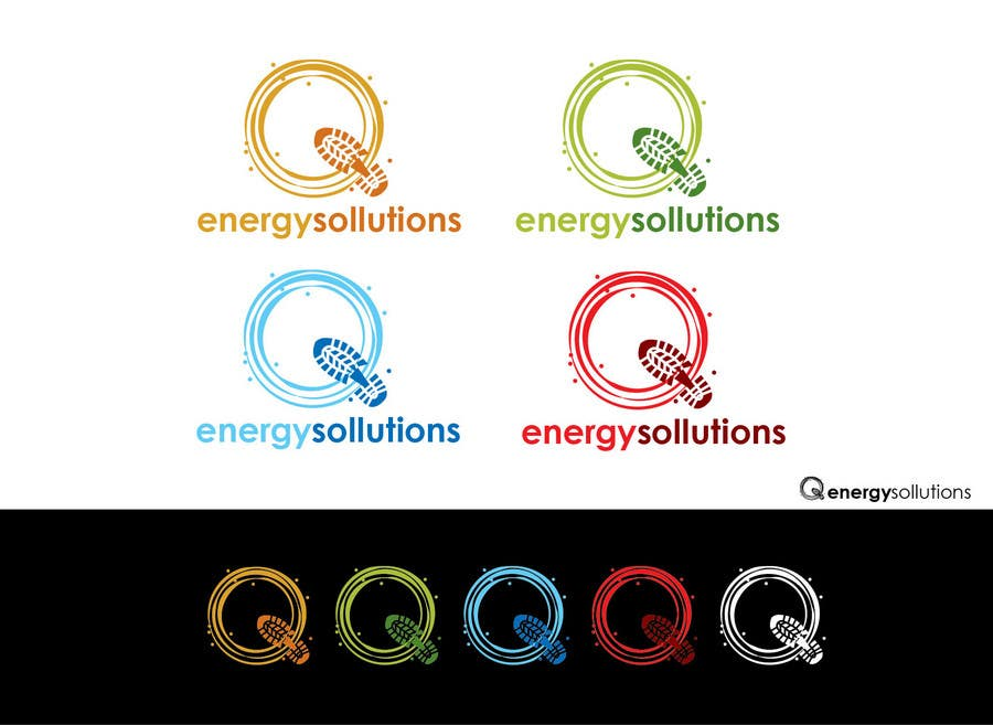Contest Entry #                                        351                                      for                                         Logo Design for Q Energy Solutions...more work to follow for the winner