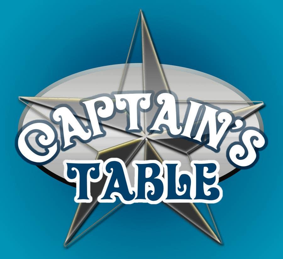 Konkurrenceindlæg #                                        41                                      for                                         Design a logo for the brand 'Captain's Table'
