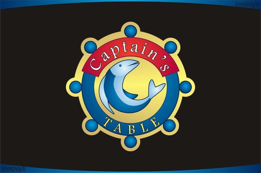 Penyertaan Peraduan #92 untuk Design a logo for the brand 'Captain's Table'