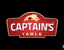 #20 para Design a logo for the brand 'Captain's Table' por kronokx