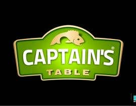 #21 para Design a logo for the brand 'Captain's Table' por kronokx