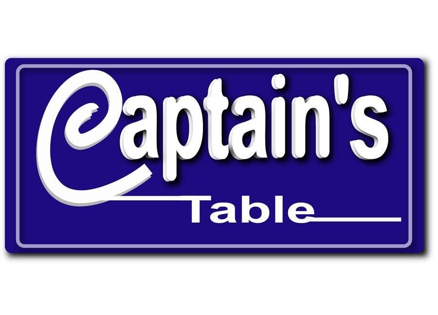 Konkurrenceindlæg #                                        46                                      for                                         Design a logo for the brand 'Captain's Table'