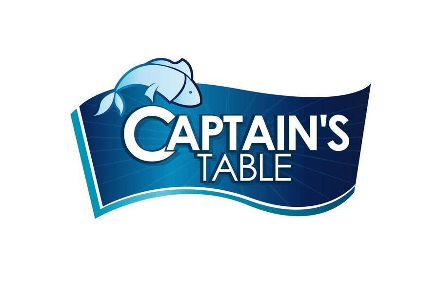Penyertaan Peraduan #63 untuk Design a logo for the brand 'Captain's Table'