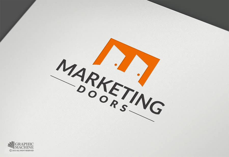Contest Entry #35 for Design a Logo for \u0027Marketing Doors\u0027 - Marketing Company & Entry #35 by manuel0827 for Design a Logo for \u0027Marketing Doors ...