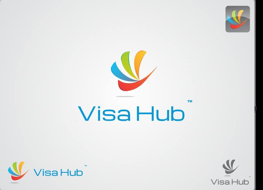 #125 for Logo Design for Visa Hub by syednaveedshah