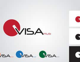 #75 for Logo Design for Visa Hub af ngnn