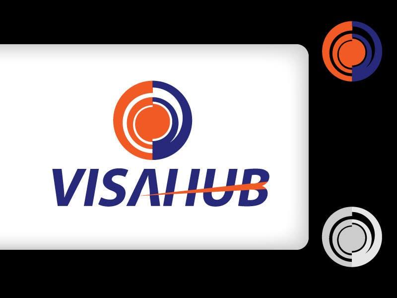 #13 for Logo Design for Visa Hub by rapfreedom