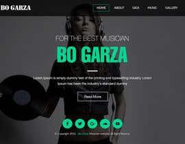 #18 for Design a Website Mockup for a Country Musician af webmastersud