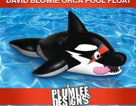 plumleedesigns tarafından Create a David Bowie orca pool float için no 8