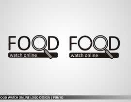 nº 216 pour Logo Design for Food Watch Online par punyo