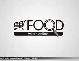 #215 pentru Logo Design for Food Watch Online de către punyo