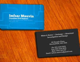 #90 untuk Design some Business Cards for Imfsar Mauvin oleh amitpadal