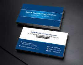 #37 para Design some Business Cards for Imfsar Mauvin por linokvarghese