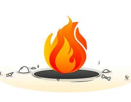 web6021 tarafından I need an animated firepit over this image. Needs to be cartoon style. için no 10