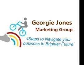 gabrielavt3 tarafından :Design a Logo for a new business: georgie jones 4 step marketing group için no 54
