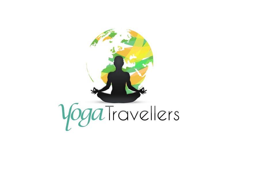 Kilpailutyö #43 kilpailussa Yoga Travellers Logo design