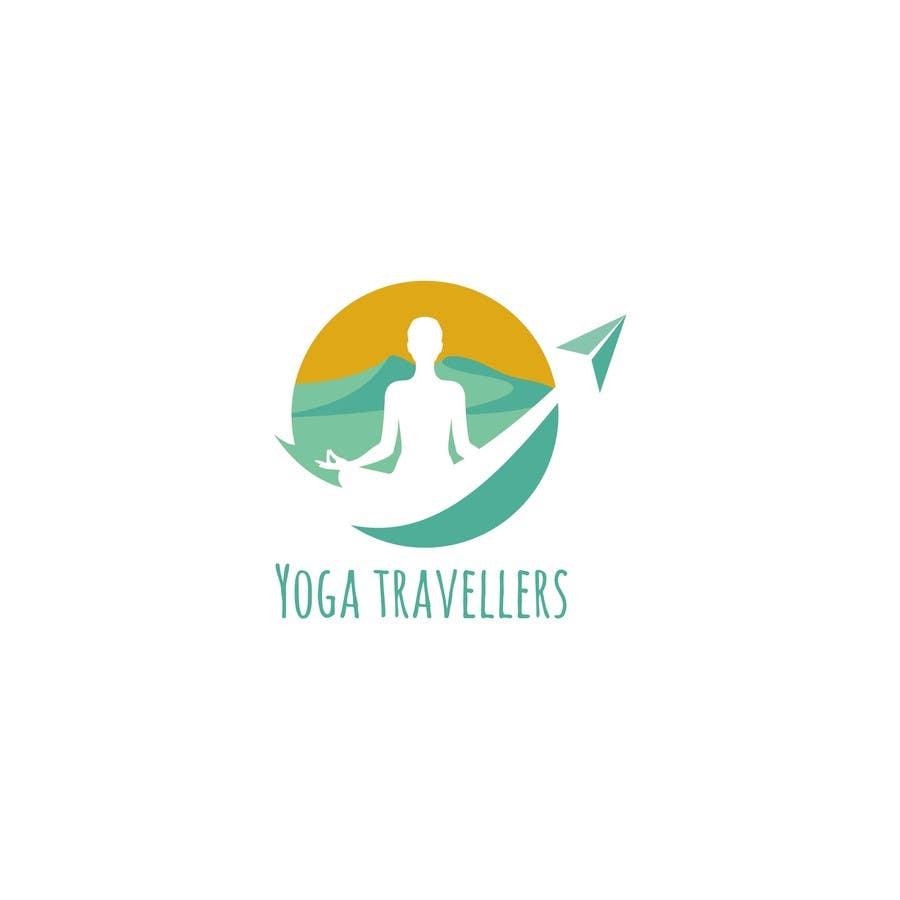 Kilpailutyö #46 kilpailussa Yoga Travellers Logo design