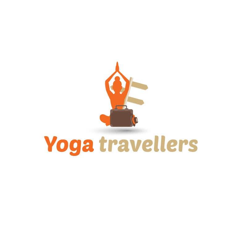 Kilpailutyö #39 kilpailussa Yoga Travellers Logo design