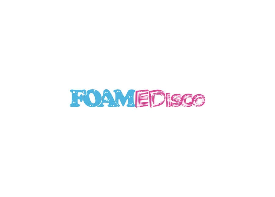 Kilpailutyö #40 kilpailussa Foamedisco logo