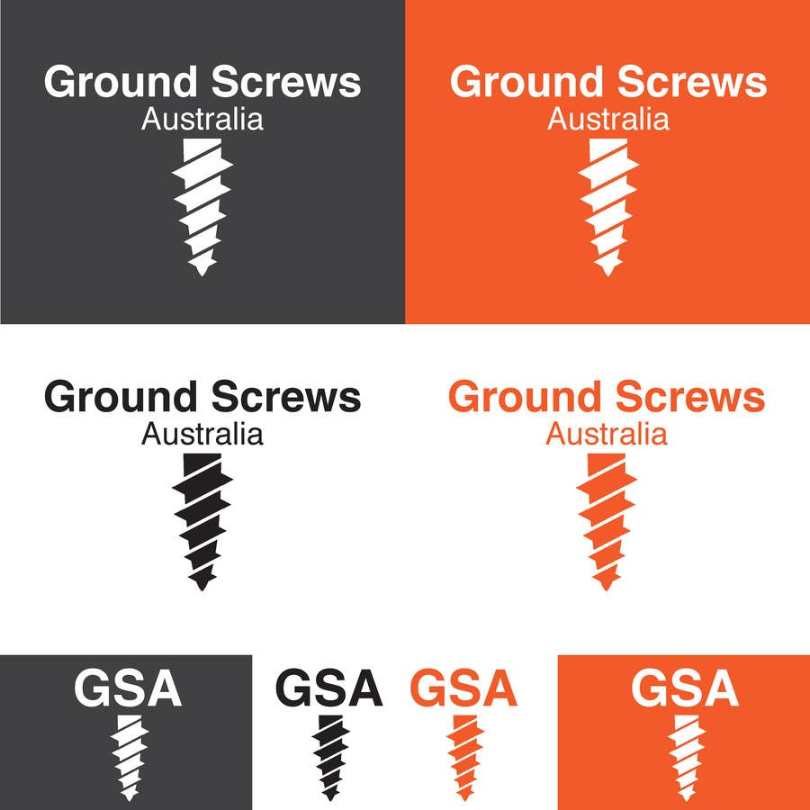 Contest Entry #19 for Design a Logo for Ground Screws Australia