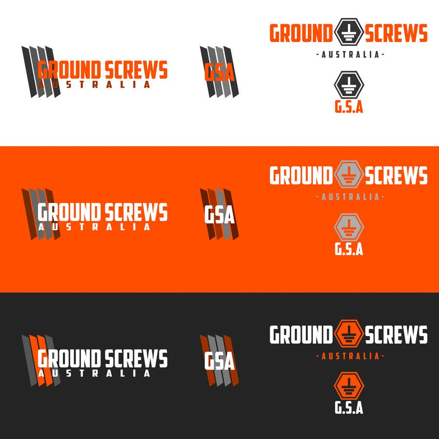 Contest Entry #5 for Design a Logo for Ground Screws Australia