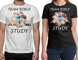 Nro 27 kilpailuun Design a TShirt Design (TEAM BIBLE STUDY) käyttäjältä laiy