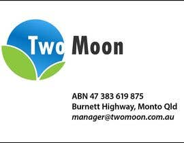 "#39 para Design a Logo for ""Two Moon"" por iakabir"