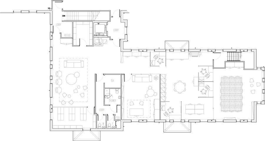 Kilpailutyö #17 kilpailussa Office Floorplan Design