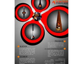 #4 untuk Design a Flyer for my company selling fireplaces oleh Emrulhossain