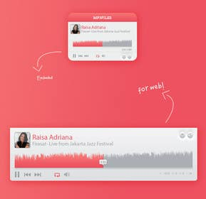#33 for Design MP3 Music Player [PSD File Required] by ervanfahren