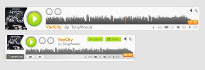 #99 for Design MP3 Music Player [PSD File Required] by RERTHUSI