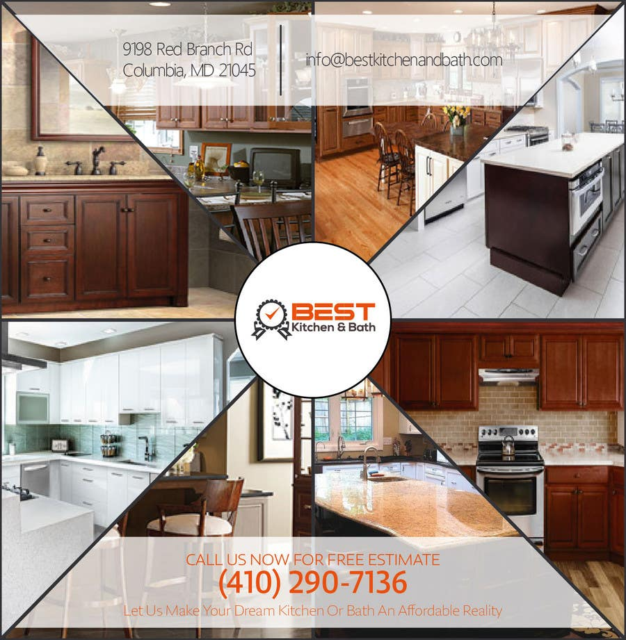 Free Kitchen Remodel Contest Entry 2 By Anjusnav For Advertisement Flyer Design For Kitchen
