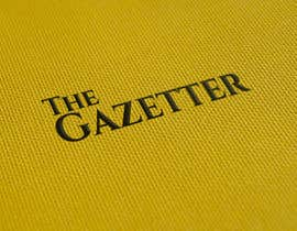#49 for Logo Design For News Portal - The Gazetter by biplobrayhan