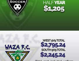dezsign tarafından Design and Layout Cost Comparisons for local soccer clubs için no 2