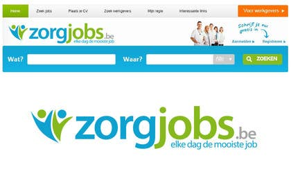 #565 for Design Logo for zorgjobs.be by puntocreativoCo