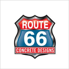 Graphic Design Contest Entry #91 for Route 66 Logo