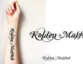 Nro 1 kilpailuun Tattoo Lettering käyttäjältä sandrasreckovic
