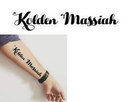 Nro 6 kilpailuun Tattoo Lettering käyttäjältä MuDesign