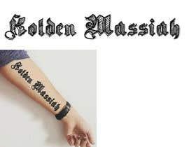 Nro 8 kilpailuun Tattoo Lettering käyttäjältä MuDesign