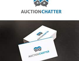 nº 11 pour Logo design contest for Auction Chatter par XpertgraphicD