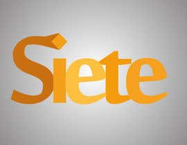 #78 for Design eines Logos for siete by mohamoodulla1
