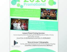 Nro 3 kilpailuun Design flyer for photography studio käyttäjältä jasminmaurice