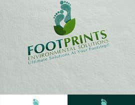 colorgraphicz tarafından Logo for Footprints Environmental Solutions için no 18