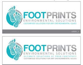 colorgraphicz tarafından Logo for Footprints Environmental Solutions için no 37